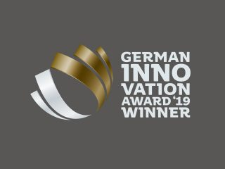 Wir sind German Innovation Award Winner 2019